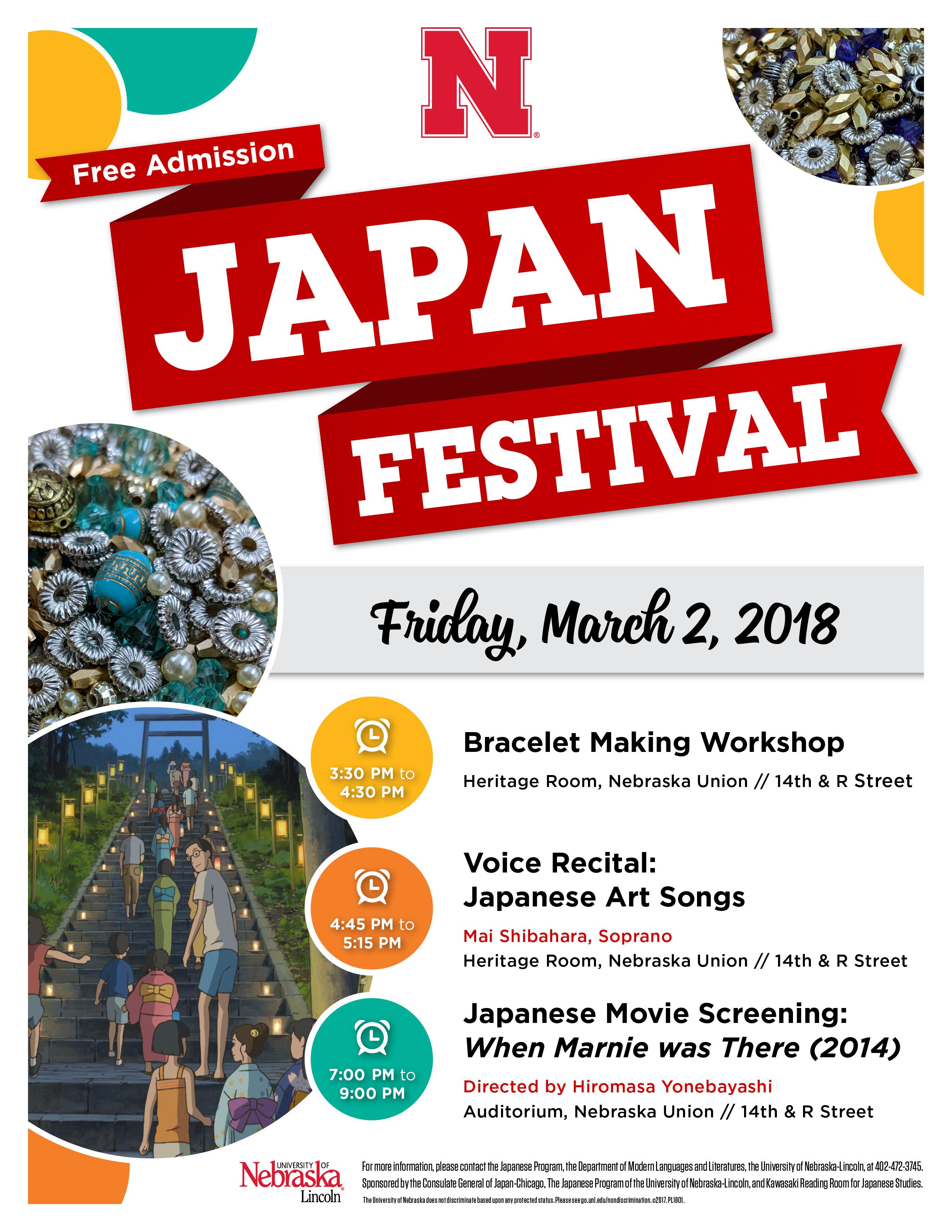 Japan Festival flier