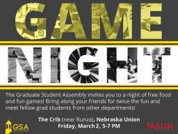 GSA Game Night