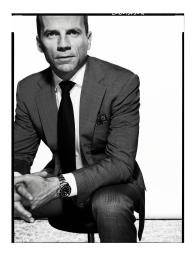 """Former Navy Seal Officer Chris Fussell will present """"Leading Teams in Complex Environments"""" on March 7."""