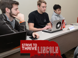 Members of the Strive to Thrive Lincoln social media team take readers through a week-by-week account of their class experiences in the grant approval process.