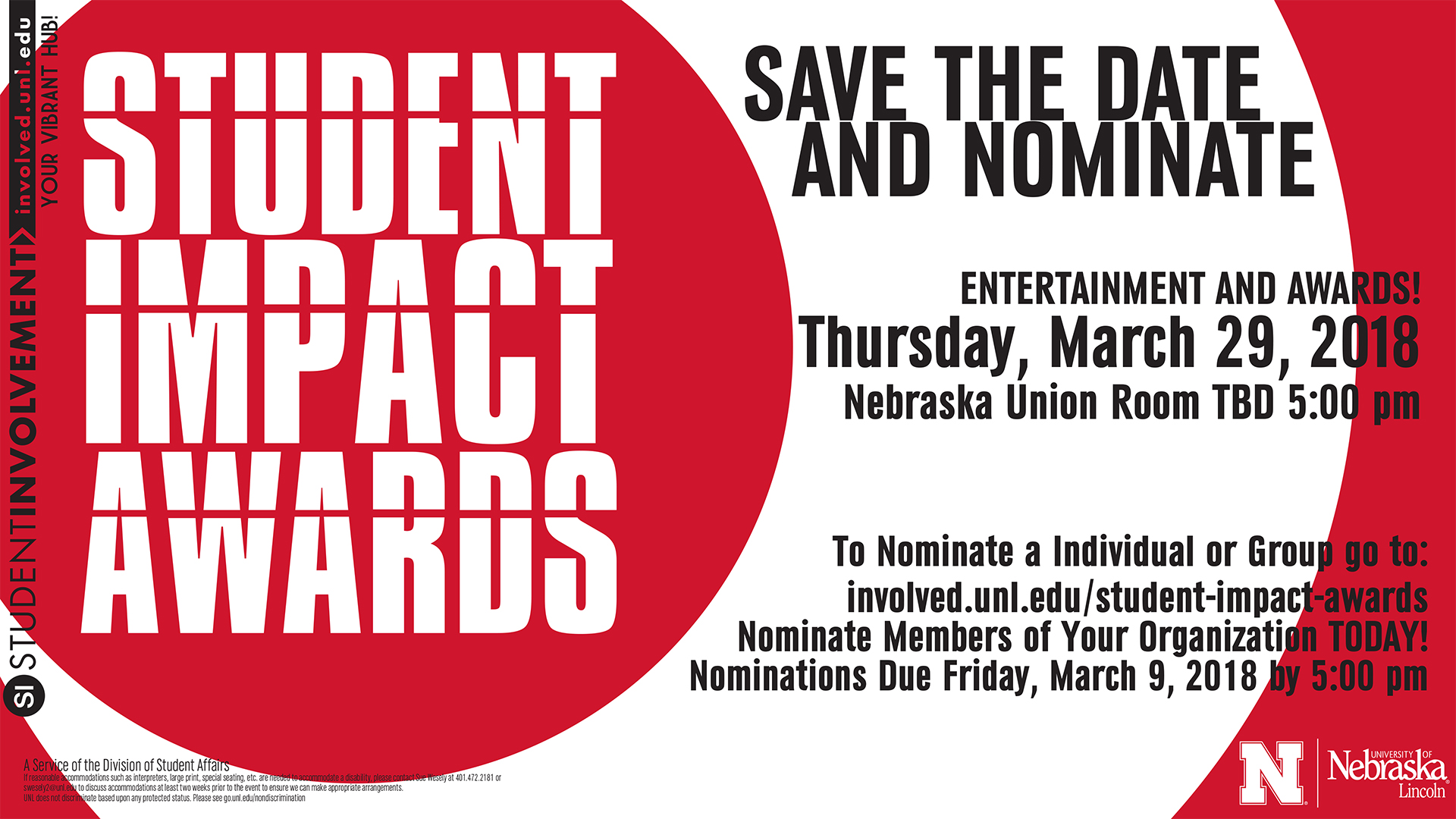 Nominate your RSO for Student Impact Awards