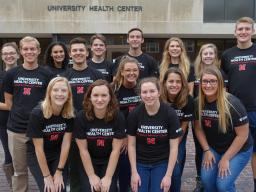 The 2017-18 University Health Center Student Advisory Board.