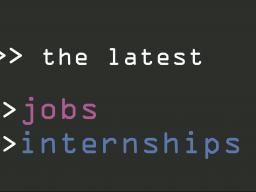 Jobs and Internships