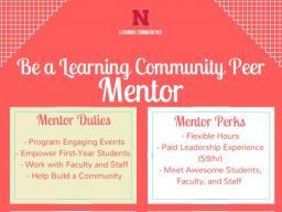 Learning Community Peer Mentors