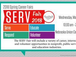 SERV Fair 2018