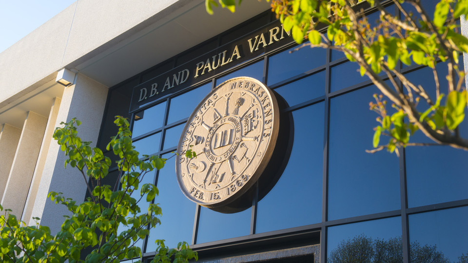 Detail of Varner Hall, home to University of Nebraska Central Administration. | File photo
