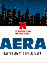 CEHS@AERA, April 13-17, 2018, New York City.
