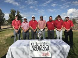 Team Nebraska (from left to right) includes Josh Baldus, Landon Maassen, Brendan Bond, Zach Sachen, Bill Rhiley, Austin Dell, and Coach Scott Holly