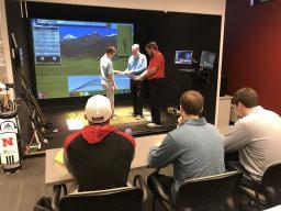 Jim WHite, PGA Providing Hands-On Lessons for PGA Golf Management Students