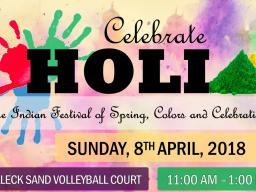 HOLI festival flier