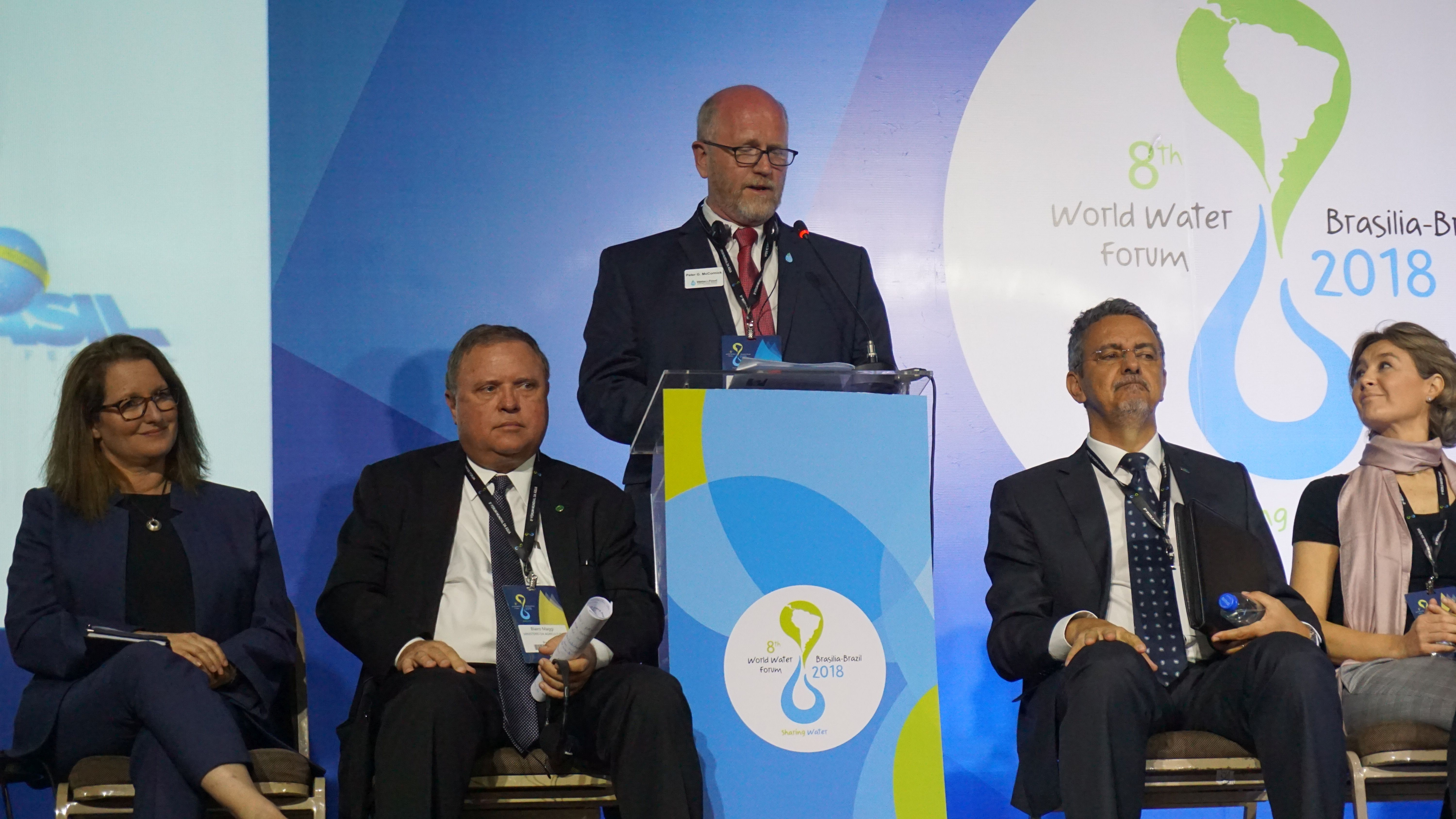 Water for Food High Level Panel, 8th World Water Forum, Brazil