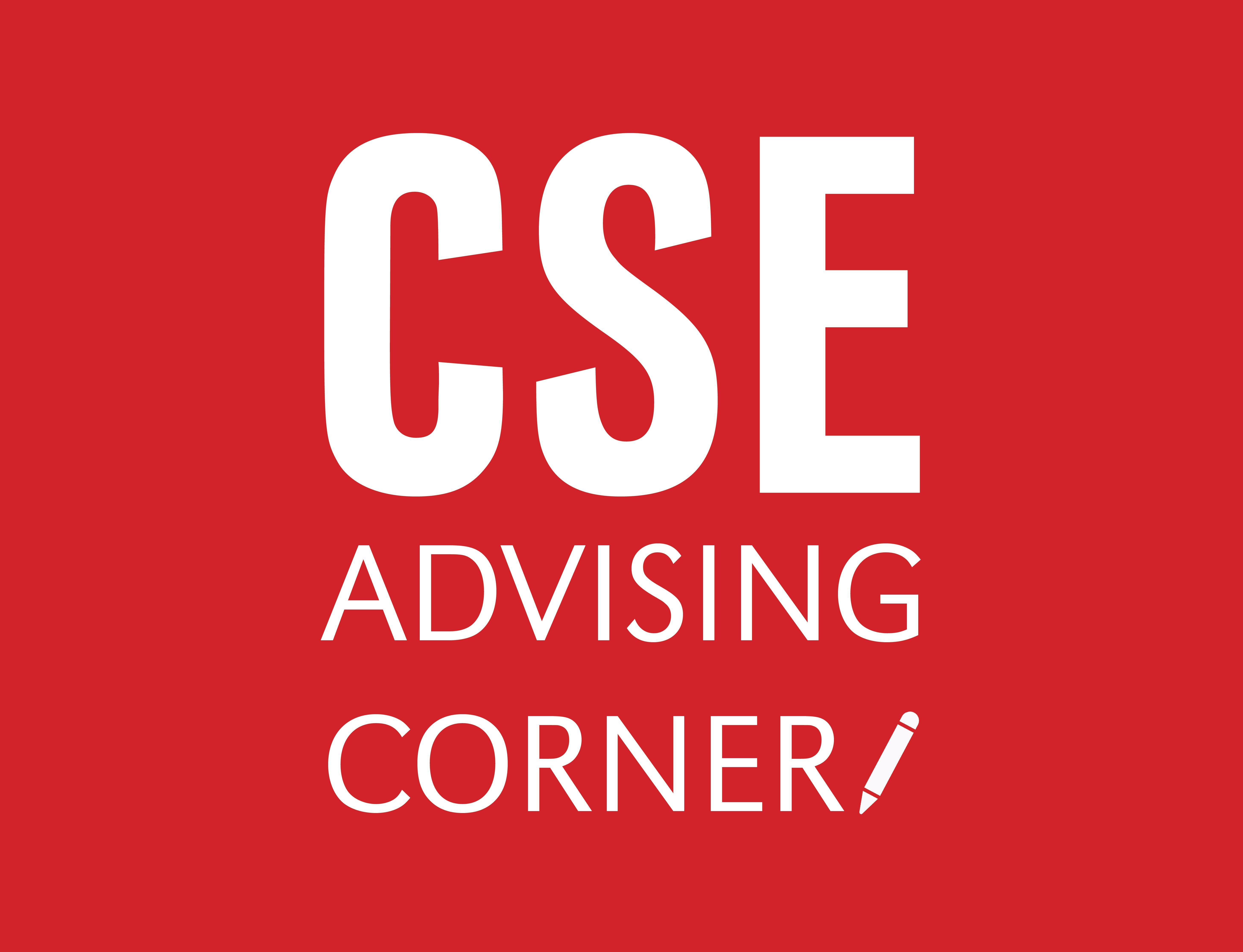Advising corner