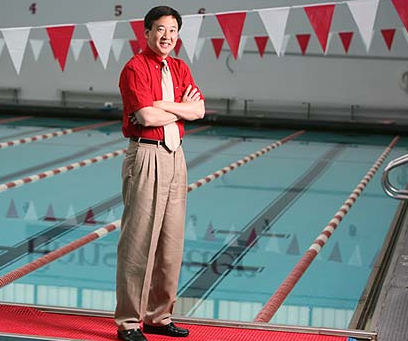 Timothy Wei has researched experimental fluid dynamics in a variety of applications, even helping improve the performance of USA Swimming athletes in the 2008 Olympic Games. Photo courtesy Rensselaer Polytechnic Institute.