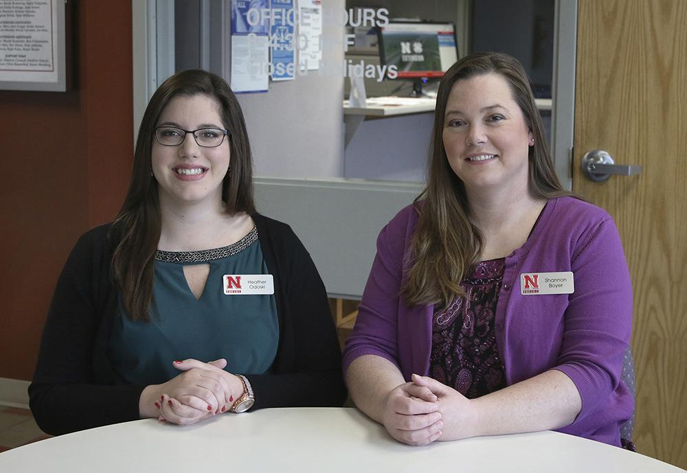 (L–R) Heather Odoski and Shannon Boyer