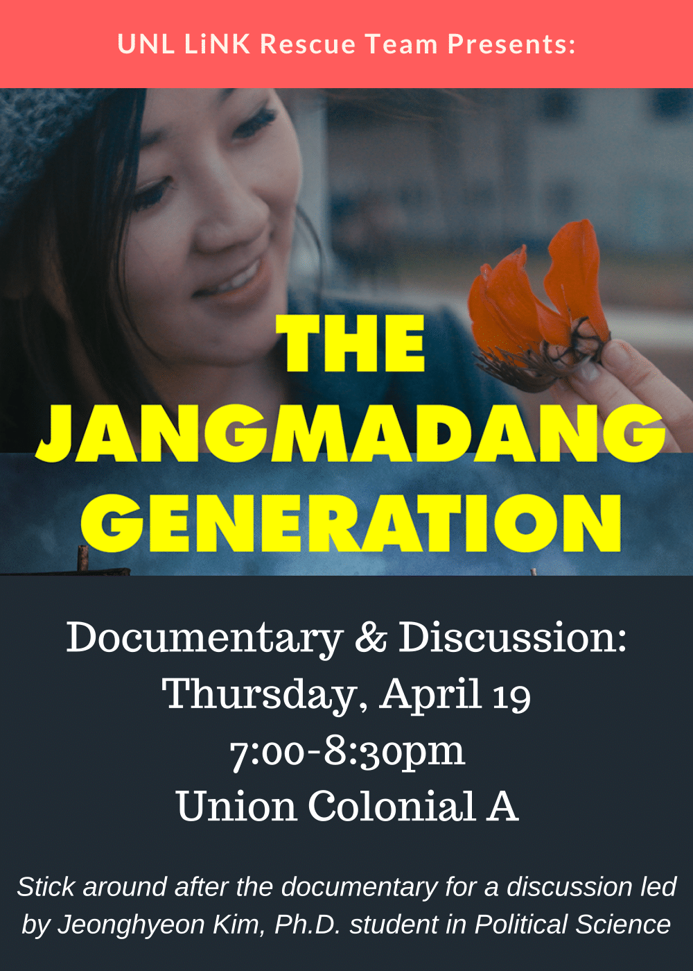 The Jangmadang Generation Documentary and Discussion