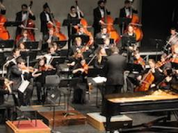 The Symphony Orchestra performs Sunday, April 29 in Kimball Recital Hall. The concert will also be live webcast.