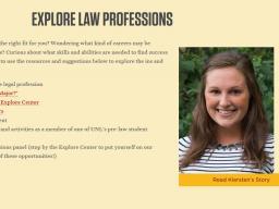 Explore Legal Professions!