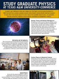 Physics at Texas A&M