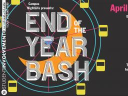 End of Year Bash poster