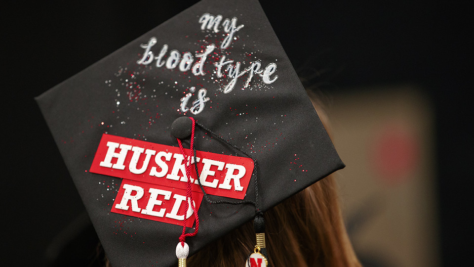 The University of Nebraska–Lincoln will confer about 3,200 degrees during commencement exercise May 4 and 5. | Craig Chandler, University Communications