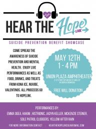Hear the Hope Benefit
