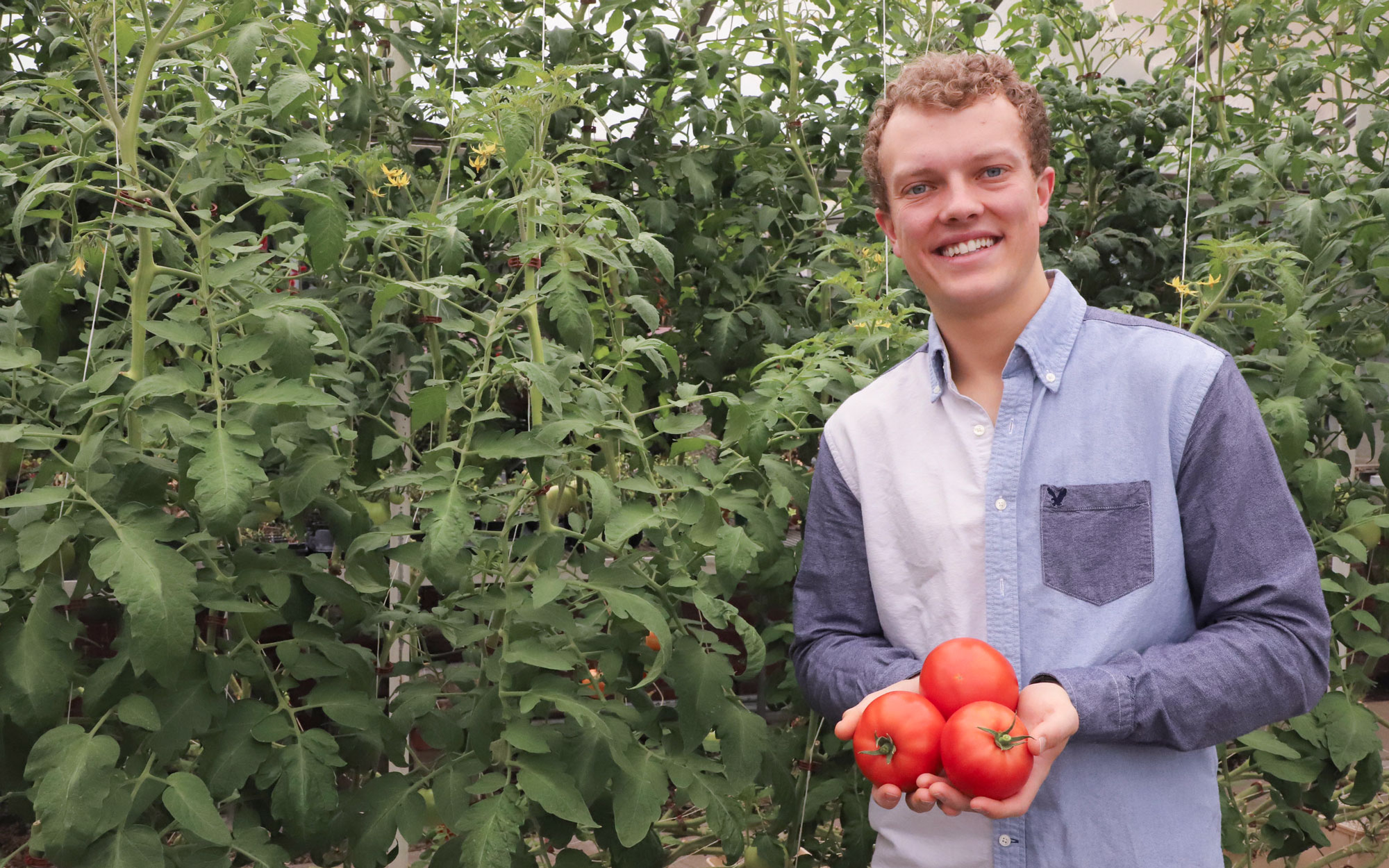 Benjamin Hintz, University of Nebraska–Lincoln Department of Agronomy and Horticulture student, received a six-month Disney Agricultural Internship in Orlando, Florida.