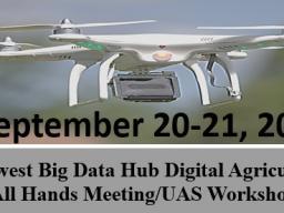 Midwest Big Data Hub Digital Agriculture  All Hands Meeting/UAS Workshop