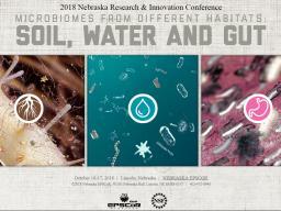 Registration closes Oct. 1 for Nebraska EPSCoR microbiomes conference
