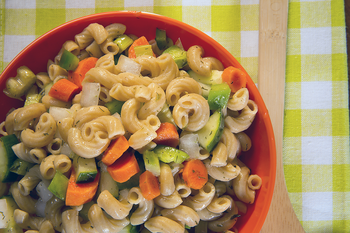 Vegetable Pasta Salad (Photo by Craig Chandler, UNL Communications)