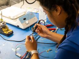 Undergraduate researchers receive hands-on training through the UCARE program