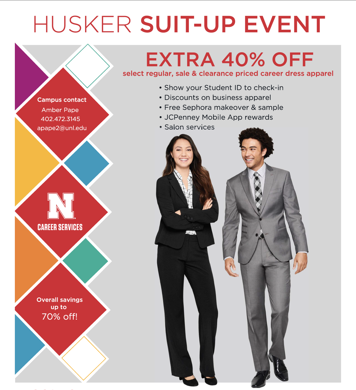 Husker Suit-Up event can get you ready for career opportunities