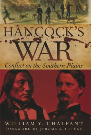 """Dust cover of William Y. Chalfant's book, """"Hancock's War: Conflict on the Southern Plains."""""""