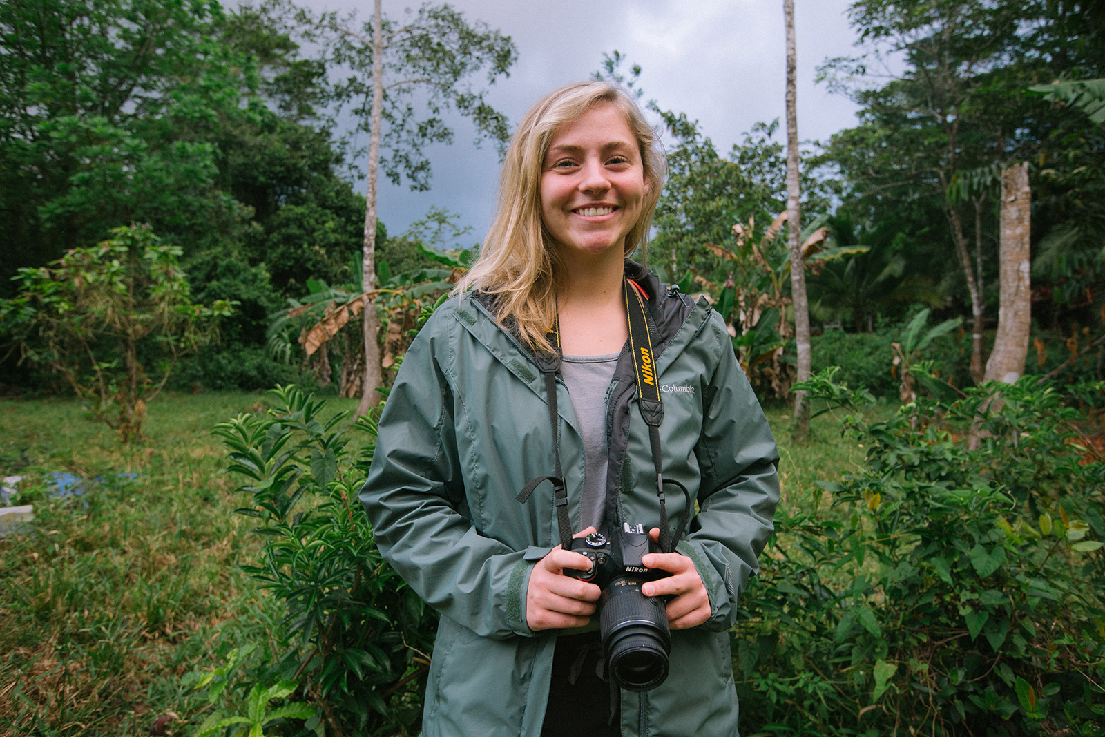 Grace Bullington at the Women Wildlife Filmmakers Workshop in Panama. | Courtesy Morgan Heim