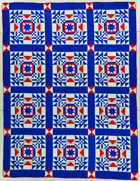 The Nebraska Quilt by Louise Howey, 1945