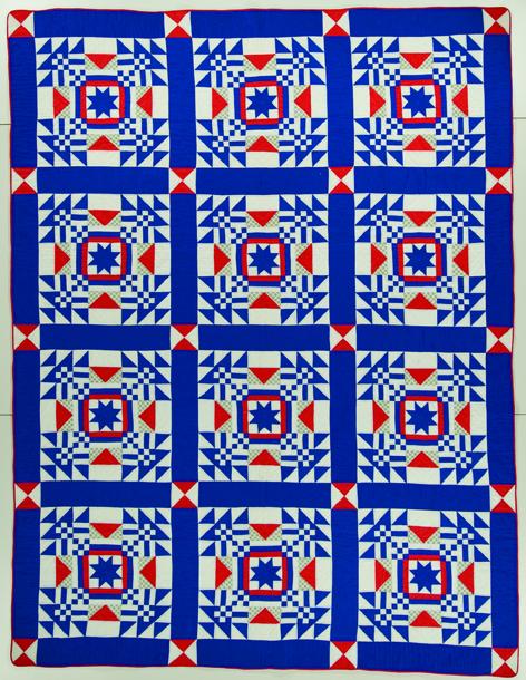 The Nebraska Quilt by Louise Howey, 1945