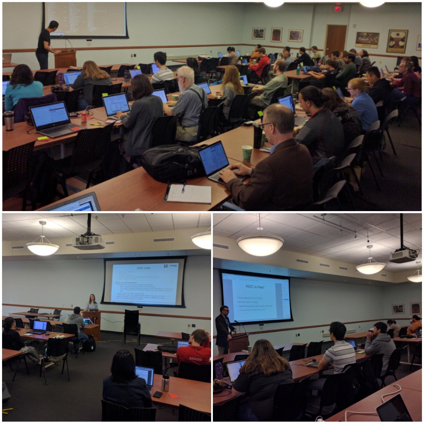 HCC staff scientists will teach researchers how to utilize the high performance computing resources offered by the Holland Computing Center through live coding examples and hands-on exercises at the HCC Fall Kickstart on October 15 & 16.